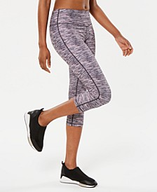 Space-Dyed Cropped Leggings, Created for Macy's
