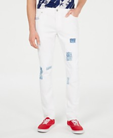 American Rag Men's Slim-Fit Snider White Jeans, Created for Macy's