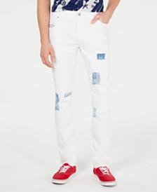 American Rag Men's Slim-Fit Snider White Jeans, Created for Macy's