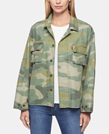 Levi's® Cotton Print Jacket