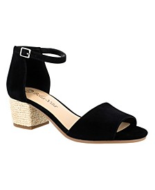 Fable Block Heel Wrap Sandals