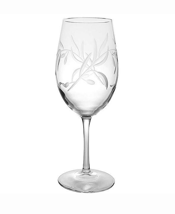 Rolf Glass Olive All Purpose Wine Glass 18Oz