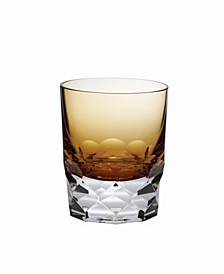 Vienna Amber Double Old-Fashioned 7Oz - Set Of 4 Glasses
