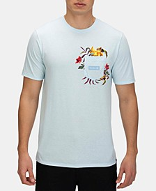 Men's Premium Fatcap Graphic Pocket T-Shirt