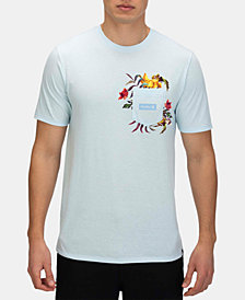 Hurley Men's Premium Fatcap Graphic Pocket T-Shirt