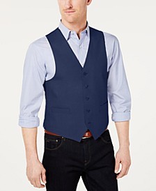Men's Classic-Fit Linen Vest
