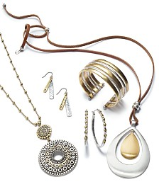 Lucky Brand Two-Tone Jewelry Separates