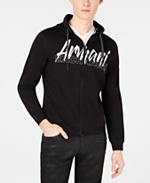 8c16262b5669d Armani Exchange Men s Logo Graphic Lightweight Hoodie