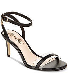 Nanette by Nanette Lepore Brooklyn Lucite Sandals, Created for Macy's