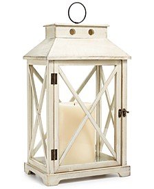 "CLOSEOUT! La Dolce Vita 22"" Wooden Lantern, Created for Macy's"