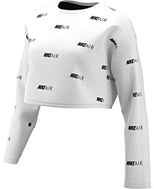 Air Logo-Print Sweatshirt