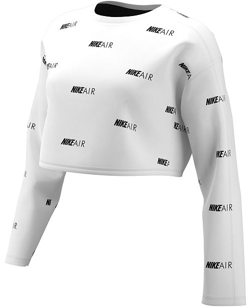 Nike Air Logo-Print Sweatshirt