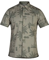 cf852e2c91c Hurley Mens Casual Button Down Shirts   Sports Shirts - Macy s