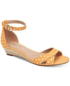 Gippi Wedge Sandals, Created for Macy's