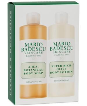 Mario Badescu 2-Pc. Jumbo Body Soap & Body Lotion Set