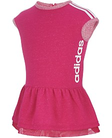 adidas Little Girls Athletic Dress