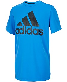 adidas Big Boys Fusion Logo T-Shirt