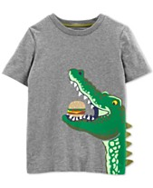 5a37b5e6de Carter's Little Boys Alligator Graphic Cotton T-Shirt