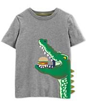 d7a10d9f Carter's Little Boys Alligator Graphic Cotton T-Shirt