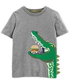 Carter's Little Boys Alligator Graphic Cotton T-Shirt
