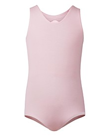 Little & Big Girls Triple Bow-Back Tank Leotard