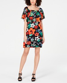 Thalia Sodi Printed Triple Threat Dress, Created for Macy's