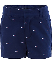 Tommy Hilfiger Baby Girls Printed Shorts