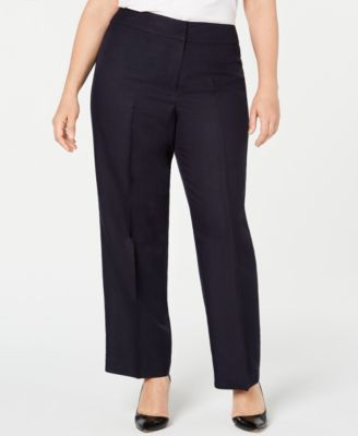 Plus Size Lightweight Pants