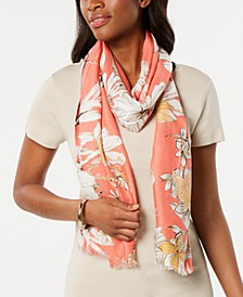 INC Sketched Flowers Pashmina