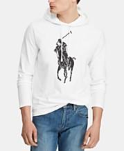 bd5b2af8420 Polo Ralph Lauren Men's Big Pony Jersey Hooded T-Shirt