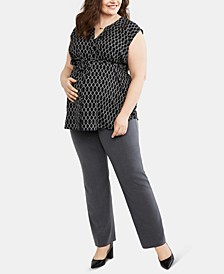 Plus Size The Zelie Secret Fit Belly Straight Leg Pants