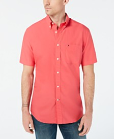 Tommy Hilfiger Men's Maxwell Classic-Fit Solid Shirt