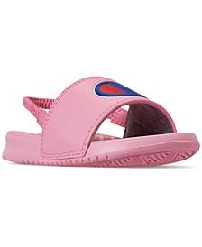 Toddler Girls' Super Slide Sandals from Finish Line