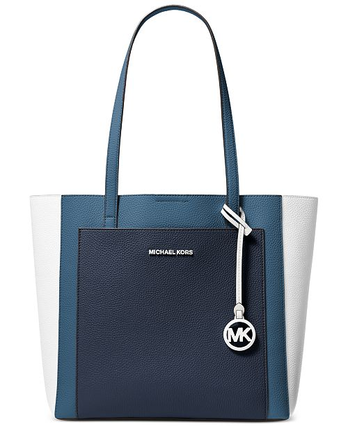 Michael Kors Gemma Colorblocked Tote