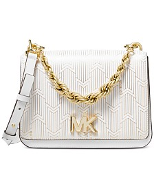 MICHAEL Michael Kors Mott Metallic Deco Chain Swing Shoulder Bag