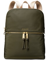 daefc81ce44b MICHAEL Michael Kors Slim Zip Nylon Backpack