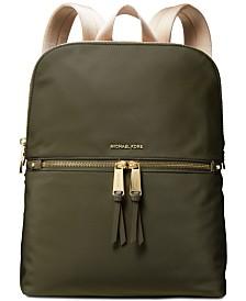 MICHAEL Michael Kors  Slim Zip Nylon Backpack