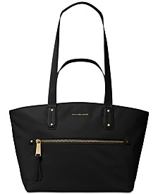 MICHAEL Michael Kors Top Zip Nylon Tote
