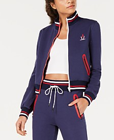 La La Anthony Colorblocked Track Jacket