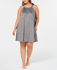 Scoop-Neck Knit Chemise Nightgown, Created for Macy's
