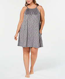 Alfani Scoop-Neck Knit Chemise Nightgown, Created for Macy's