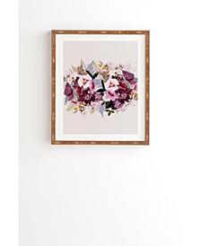 Lunette Framed Wall Art