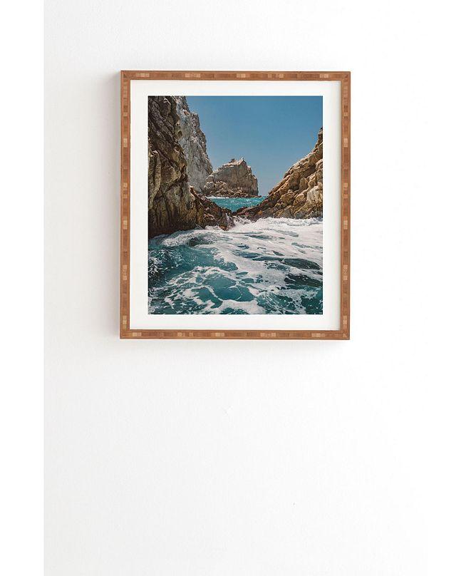 Deny Designs Cabo San Lucas Framed Wall Art