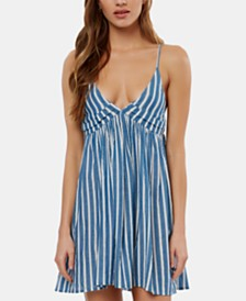 O'Neill Felix Cotton Cover-Up Dress, Created For Macy's