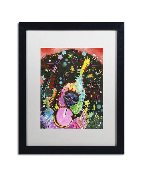 """Trademark Global Dean Russo 'Saint' Matted Framed Art - 16"""" x 20"""" x 0.5"""""""