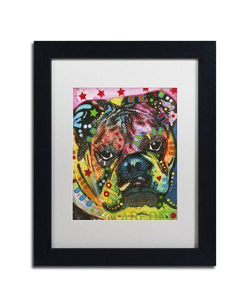 "Trademark Global Dean Russo 'Determined' Matted Framed Art - 11"" x 14"" x 0.5"""