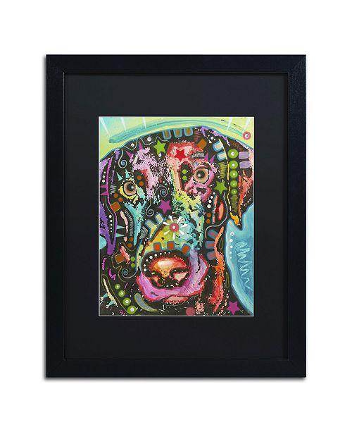 """Trademark Global Dean Russo '19' Matted Framed Art - 16"""" x 20"""" x 0.5"""""""