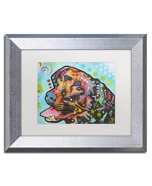 """Trademark Global Dean Russo '20' Matted Framed Art - 14"""" x 11"""" x 0.5"""""""