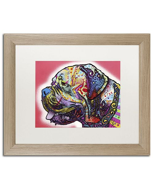 "Trademark Global Dean Russo 'Profile Mastiff' Matted Framed Art - 20"" x 16"" x 0.5"""