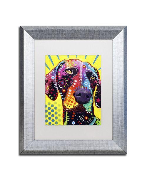 """Trademark Global Dean Russo 'German Short Hair Pointer' Matted Framed Art - 14"""" x 11"""" x 0.5"""""""